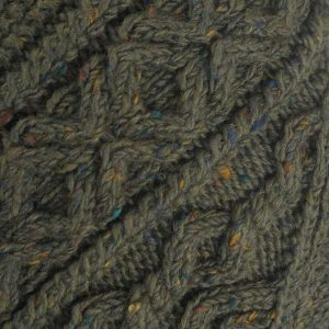 4A Golfer Cardigan Loden Donegal Tweed
