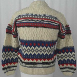 53C Nordic Cardigan Assorted Back