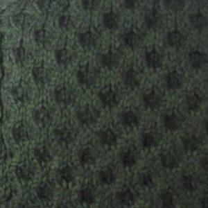 6A Shawl Collar Cardigan Alpine Back Aran