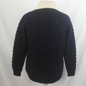 6A Shawl Collar Cardigan 317b Navy-Natural