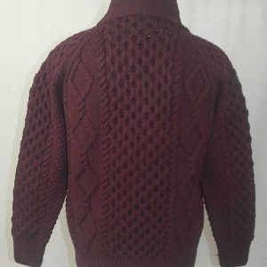 6A Shawl Collar Cardigan Wizard Back