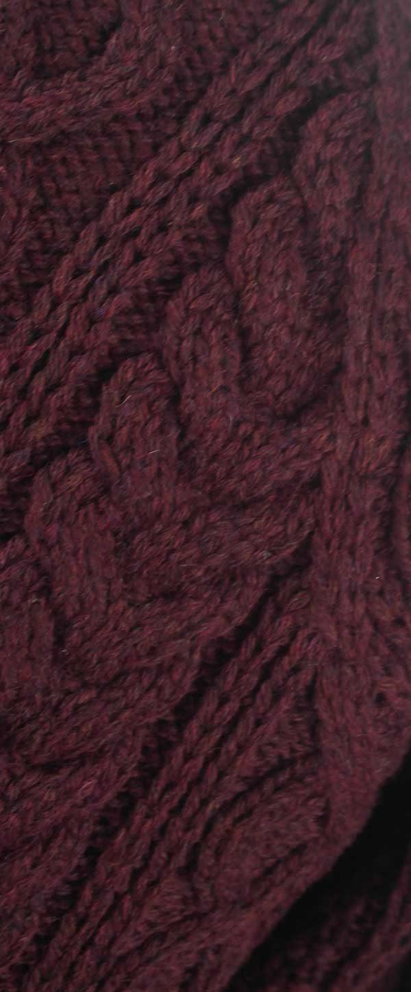 6A Shawl Collar Cardigan Wizard Rennie Shetland