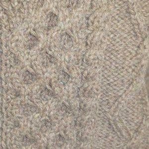 6A Shawl Collar Cardigan Nutmeg Rennie Shetland
