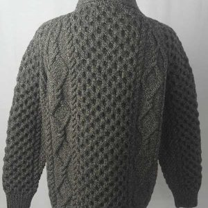 6A Shawl Collar Cardigan Rebel Back