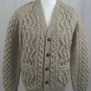 8E V-Neck Cardigan Coffee