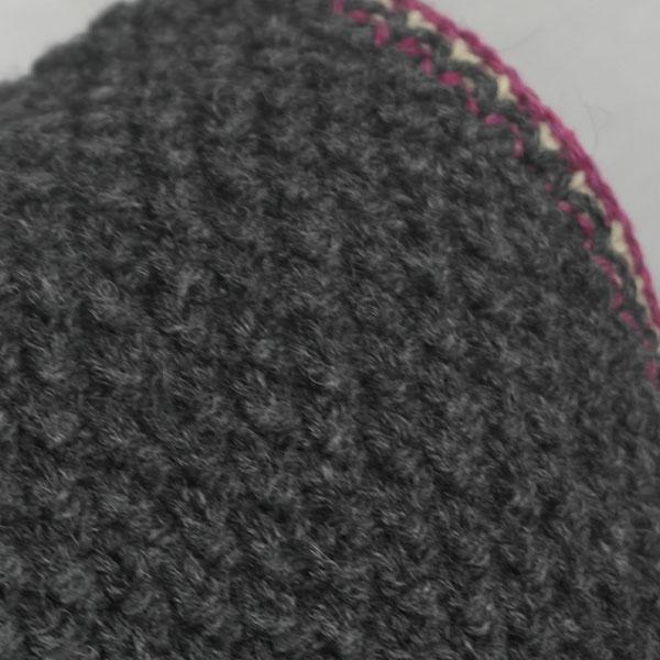 9Q Multi Colour Moss Stitch Waistcoat 519d Assorted - Close Up