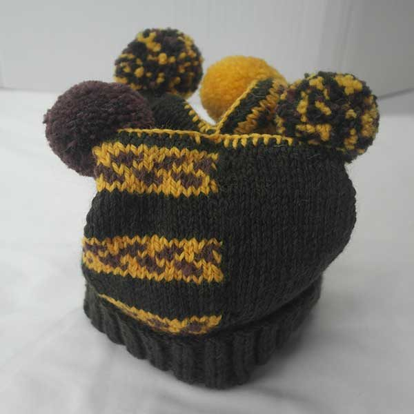 Ardlui Hat Loden-Brown-Yellow