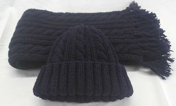 22F-Rib-&-Cable-Hat-&-Scarf-Set-91a-Navy