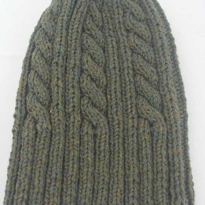 22F Rib & Cable Hat & Scarf Set Fenland