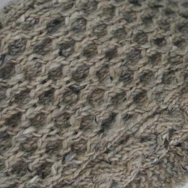 12A Aran Scarf Buncrana Close Up