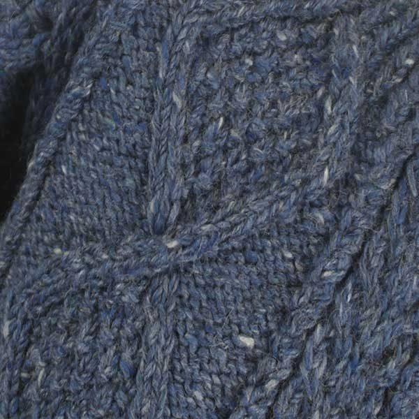 1B Cara Crew Neck Sweater Denim 7013 Material