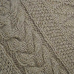 1G Pegasus Roll Neck Oatmeal Close Up