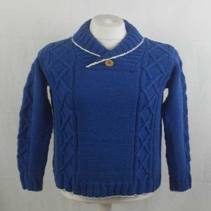 207 Twechar Sweater 272a Royal-White