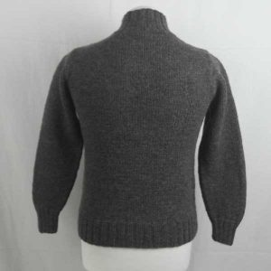 208 Granton Buttoned Sweater 263b Dark Grey N604