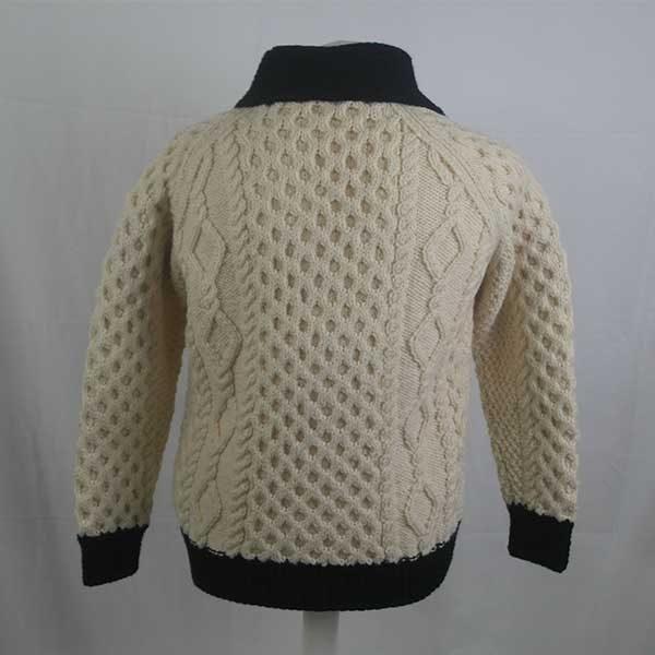209 Kenmore Shawl Collar Cardigan 275b Natural-Navy