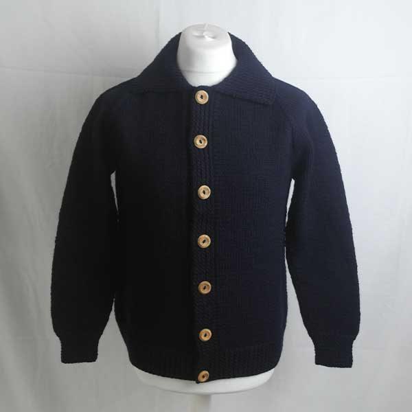 211 Falloch Lumber Cardigan Navy