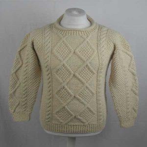 223 Rhu Sweater 266a Cream D002