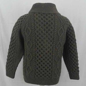 6A Shawl Collar Cardigan Loden 7007