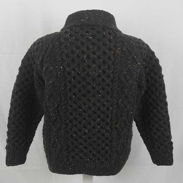 6A Shawl Collar Cardigan Brown 7010
