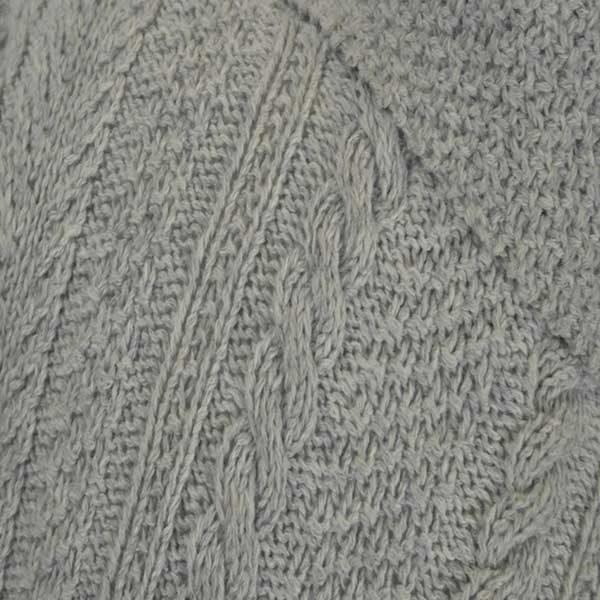 6B Shawl Collar Cardigan Pearl 802 Close Up