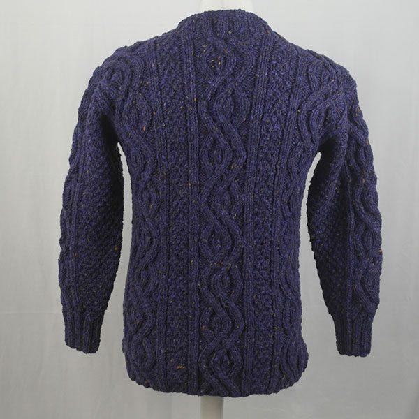 16I Tunic Roll Collar Sweater 341b Violet 7057
