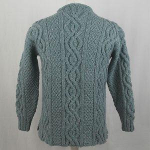 16I Tunic Roll Collar Sweater 343b Sky 7037