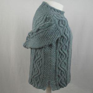 16I Tunic Roll Collar Sweater 343c Sky 7037
