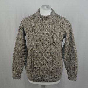 1A Country Meetings Crew Neck Sweater 333a Lt Grey Mix 3