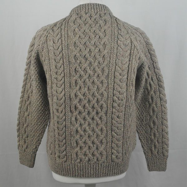 1A Country Meetings Crew Neck Sweater 333b Lt Grey Mix 3