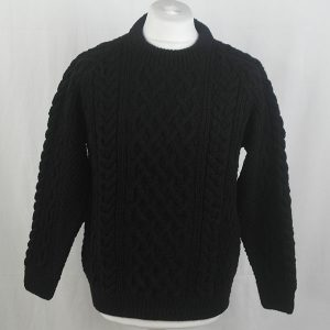 1A Country Meetings Crew Neck Sweater 336a Black 44