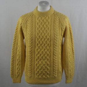1A Country Meetings Crew Neck Sweater 352a Yellow 509