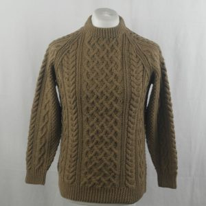 1A Country Meetings Crew Neck Sweater 353a Light Coffee 540