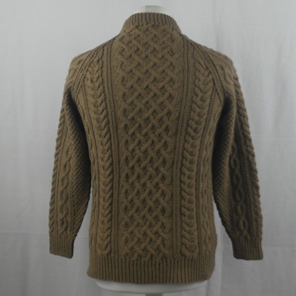 1A Country Meetings Crew Neck Sweater 353b Light Coffee 540