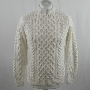 1A Country Meetings Crew Neck Sweater 354a White