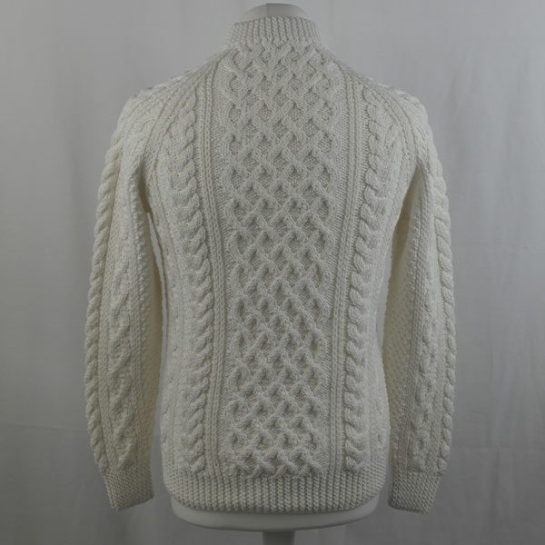 1A Country Meetings Crew Neck Sweater 354b White