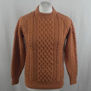 1A Country Meetings Crew Neck Sweater 355a Russet 564