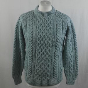 1A Country Meetings Crew Neck Sweater 356a Powder Blue 522