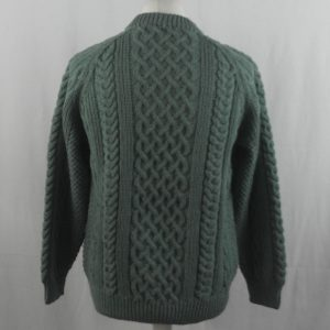 1A Country Meetings Crew Neck Sweater 358b Moss Green