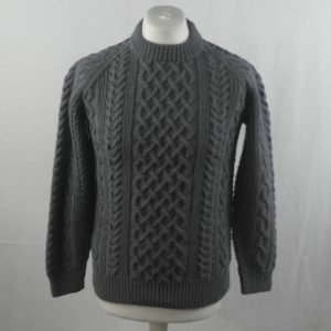 1A Country Meetings Crew Neck Sweater 360a Slate 525
