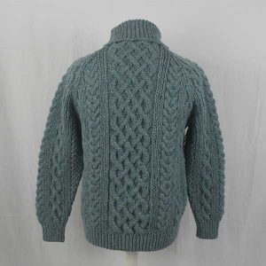 1A Country Meetings Roll Neck Sweater 289a Sky 7037