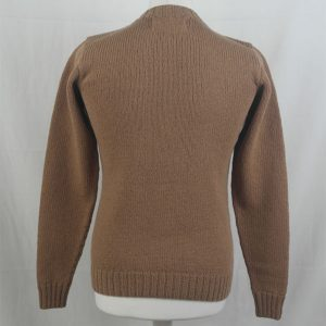 1Z Hand Framed Crew Neck Sweater 331b Camel