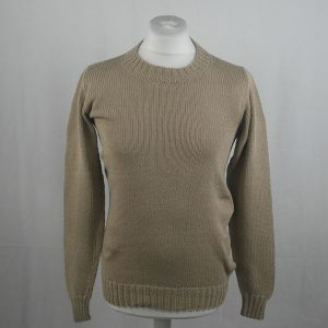 1Z Hand Framed Crew Neck Sweater 362a Stone 541