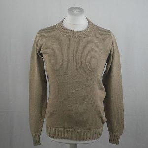 1Z Hand Framed Crew Neck Sweater 362a Stone 541