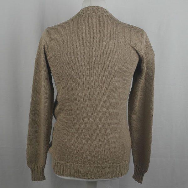 1Z Hand Framed Crew Neck Sweater 362b Stone 541