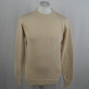 1Z Hand Framed Crew Neck Sweater 364a Natural 505