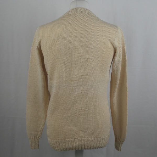 1Z Hand Framed Crew Neck Sweater 364b Natural 505