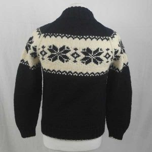 206 Balloch Buttoned Sweater Navy-Natural