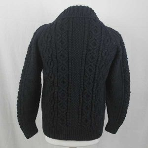 224 Coupar Lumber Cardigan Charcoal