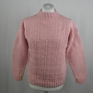 2B Sheila McGregor Crew Neck Sweater 361a Blush 506