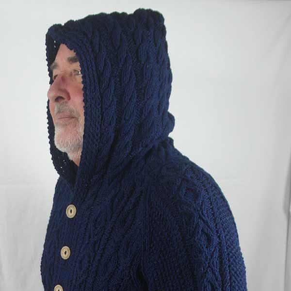 3A Hooded Lumber Cardigan Milford
